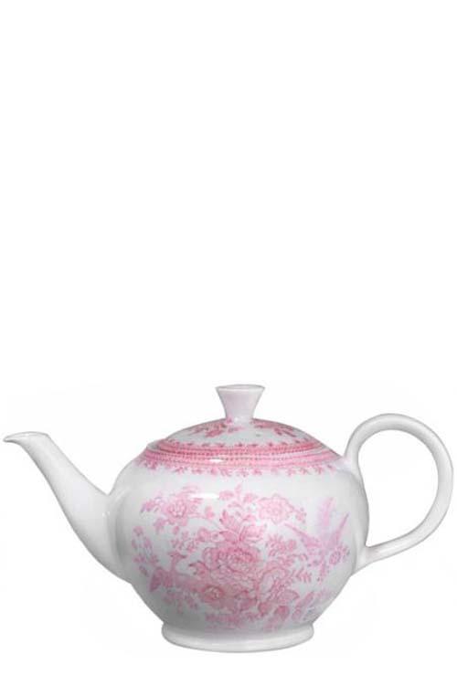 Burleigh(バーレイ) |ピンク アジアティック フェザンツ ティーポット Lサイズ
