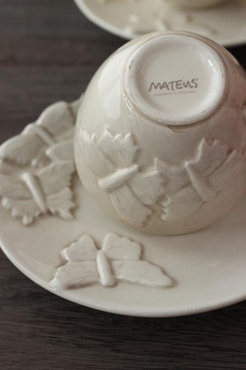 MATEUS(マテュース) |バタフライ カップ&ソーサー サンド