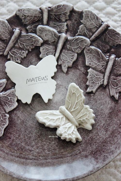 MATEUS(マテュース) |箸置き バタフライ S サンド