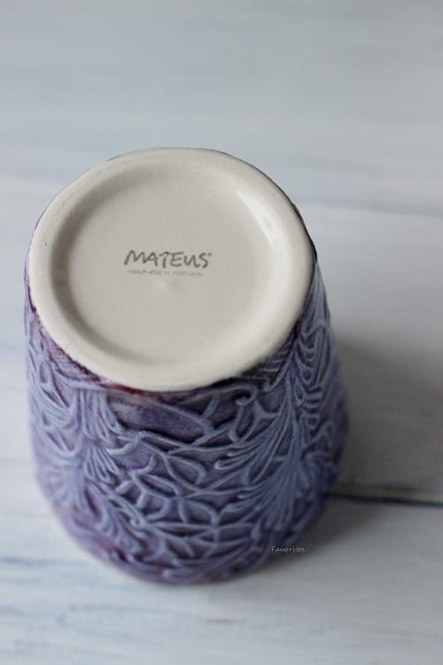 MATEUS(マテュース) |レース マグ パープル