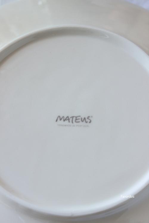 MATEUS(マテュース) |レースプレート 21cm サンド