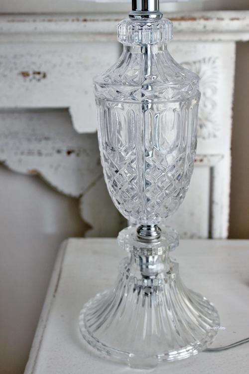ハンプトン・ガラスランプ