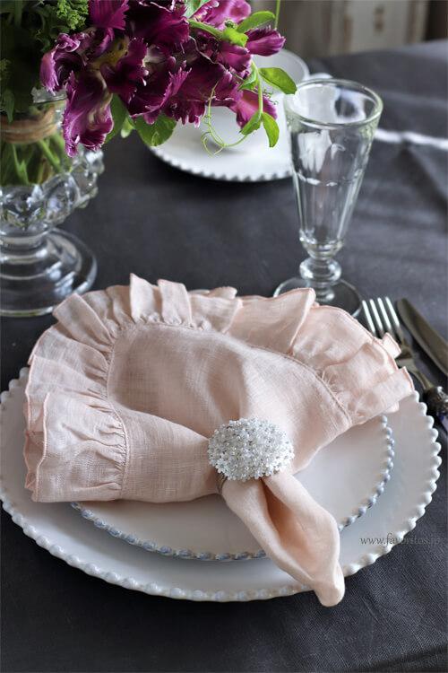 Cote Table(コテ・ターブル)| ナプキンリング Fleur(フルール)