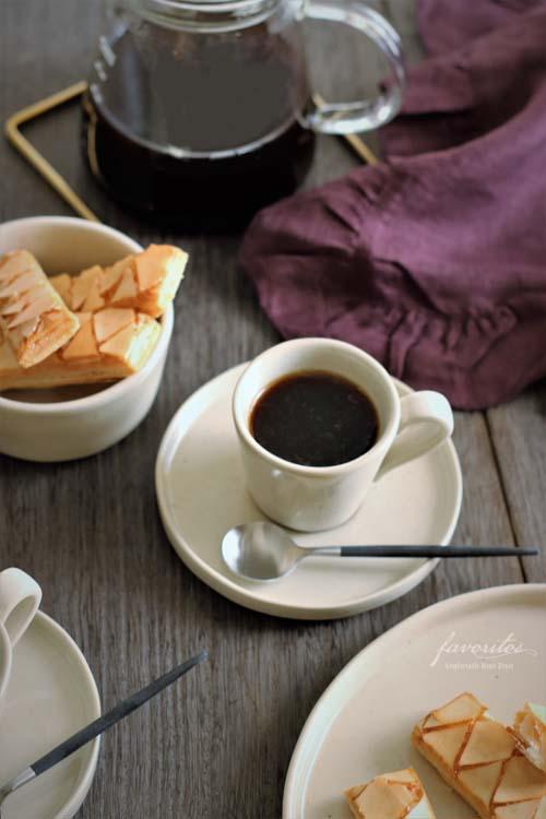 COSTA  NOVA(コスタノバ)   LAGOA(ラゴア)コーヒーカップ&ソーサー(エスプレッソ)ストーン