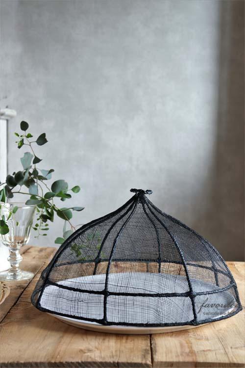 fiorira un giardino(フィオリラ ウン ジアルディーノ) |ラウンド フードカバー 35cm(ブラック)