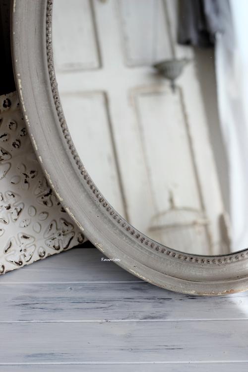 Mathilde M.(マチルドエム)| リボンミラー Oval Louis XVI(縦型・特大サイズ)