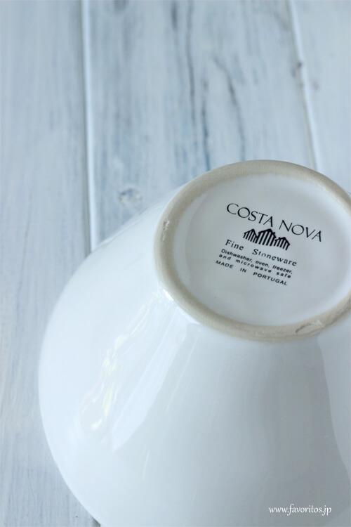 COSTA NOVA(コスタノバ) |NOVA(ノバ) ボウル0.5L(ホワイト/ターコイズ/デニム)
