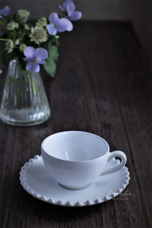 COSTA NOVA(コスタノバ) |PEARL(パール) コーヒーカップ&ソーサー