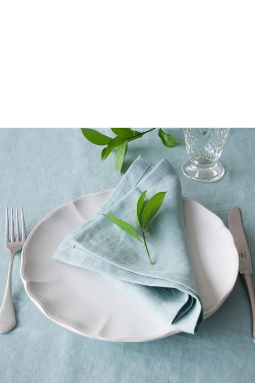 COSTA NOVA(コスタノバ) | テーブルリネン PORTO ナプキン / テーブルランナー(ターコイズ)