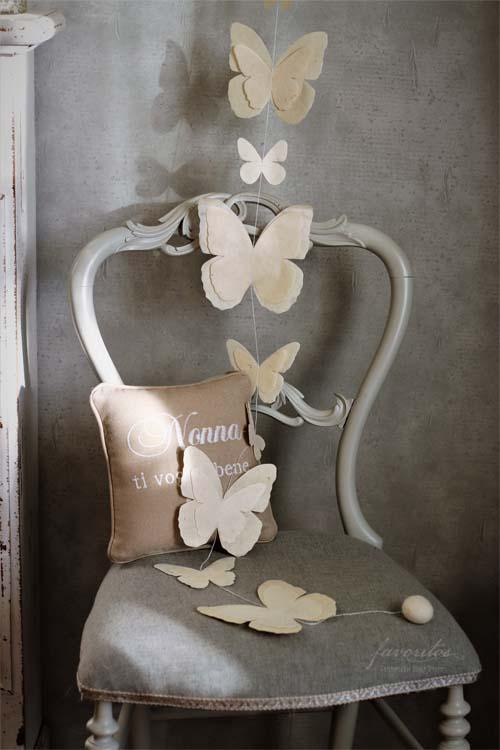 fiorira un giardino(フィオリラ ウン ジアルディーノ) |ペーパーバタフライ ハンドメイド ガーランド