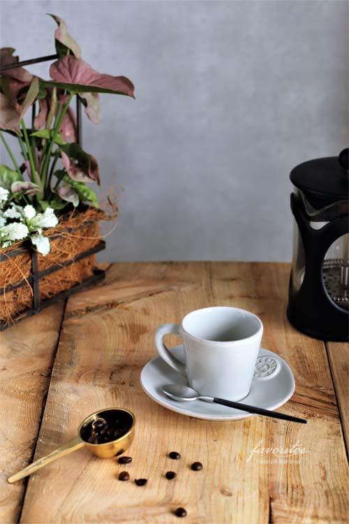 COSTA  NOVA(コスタノバ)  NOVA(ノバ) コーヒーカップ&ソーサー  (エスプレッソ)0.07L(ホワイト/ターコイズ/デニム/サンドグレー)