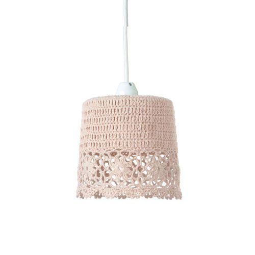 メルクロス CROCHET-1BULB-PENDANT-LIGHT-LACE-BE M01