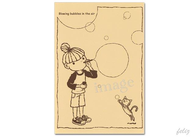 Blowing bubbles /チョッちゃん