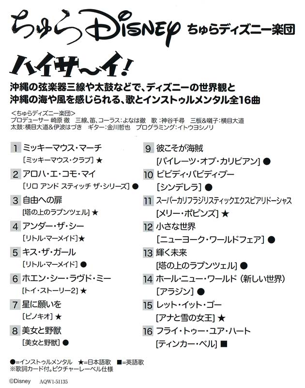 ちゅらDisney(ディズニー)
