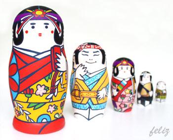 マトリョーシカ - 沖縄踊(オド)リョーシカ!