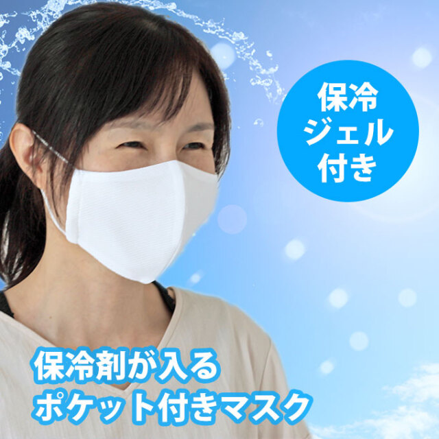 保冷剤ポケット付き マスク ファムベリー