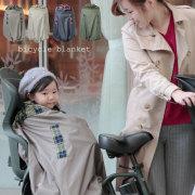 送料無料(沖縄は送料無料対象外です)  自転車防寒カバー 撥水素材で冷たい風もしっかりシャットダウン 日本製jbc