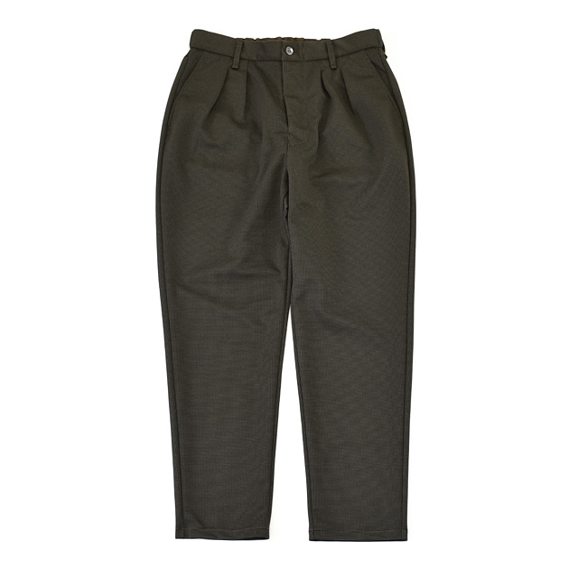 """CURLY - Regency TP Trousers """"Houndstooth"""" - Mocha Check"""