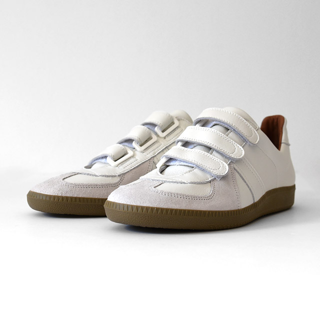 REPRODUCTION OF FOUND - German Trainer Velcro - White