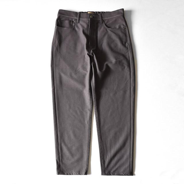 LAMOND - Corduroy 5pocket Pants - Charcoal