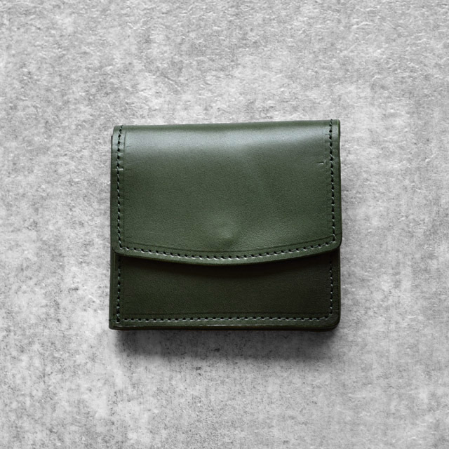 efni - Flap Mini Wallet - Green