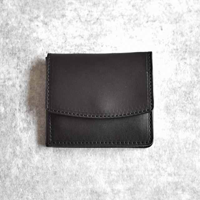 efni - Flap Mini Wallet - Black