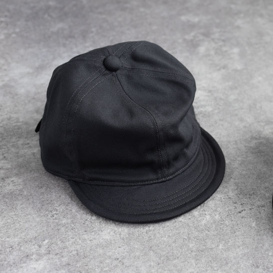 efni - Classic Cap / Cotton Twill - Charcoal