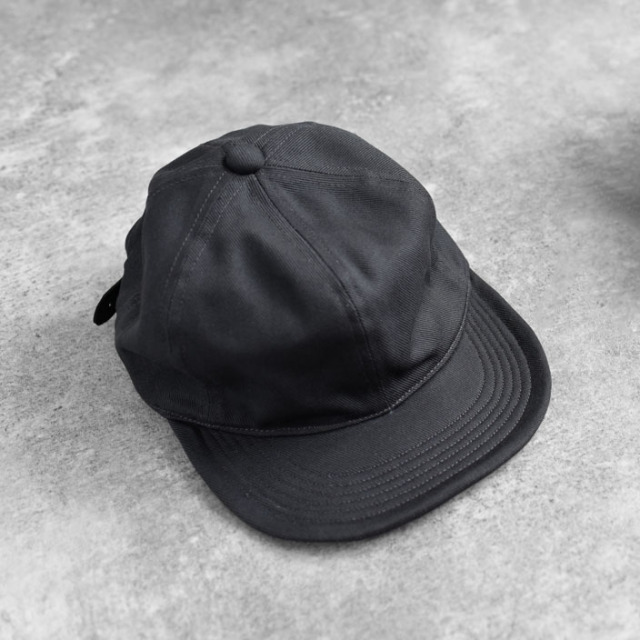 efni - 6 Panel Cap / Cotton Twill - Charcoal