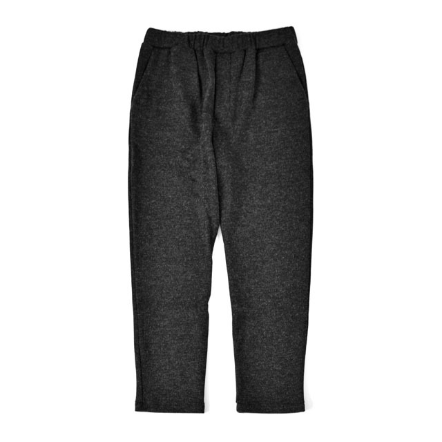 LAMOND - Twill Knit Pants - Charcoal