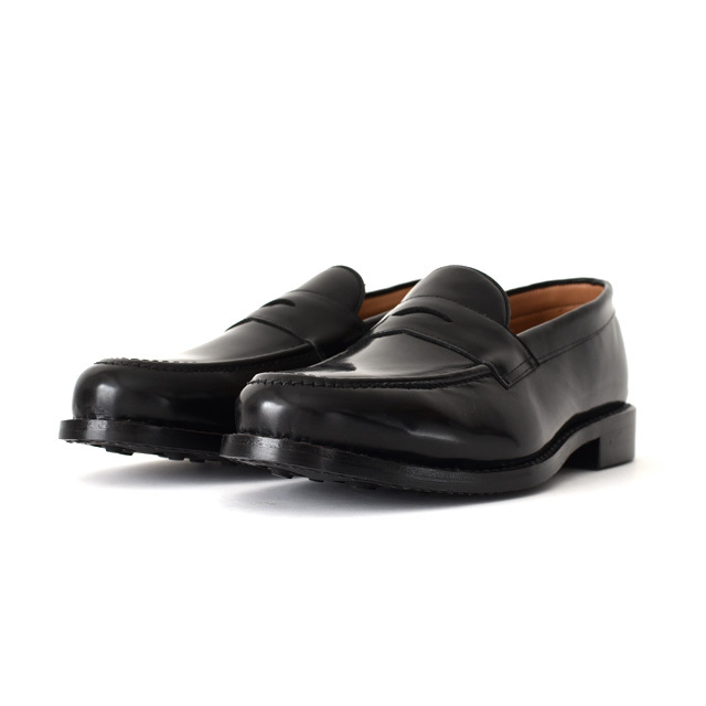 WALLSALL - Loafer Shoes  - Black (Polished Leather)