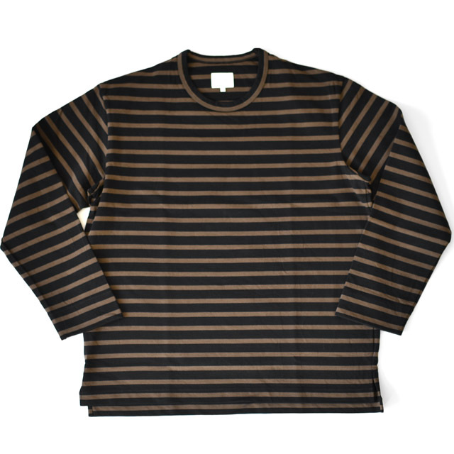CURLY - SALFORD L/S BORDER TEE