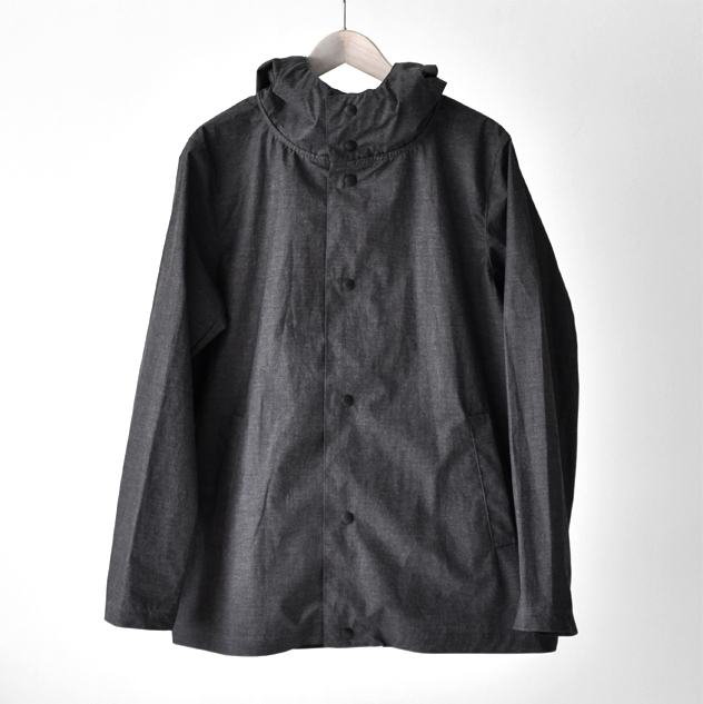 Jackman - Atsumori Jacket - Heather Black