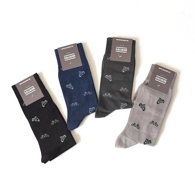 DISTRETTO073 - Cotton Nylon Socks - Bicicletta