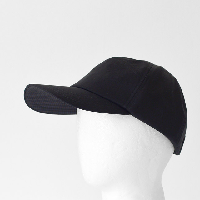 CURLY - Camp Cap  - Black