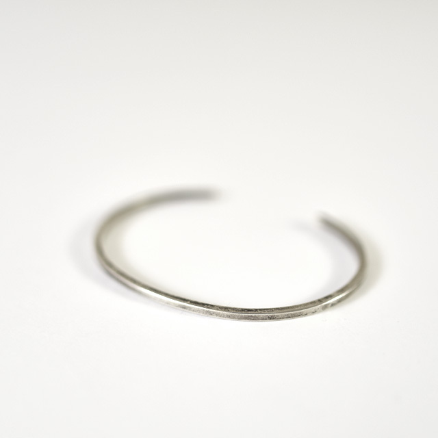 efni - Minimal Bangle - Silver