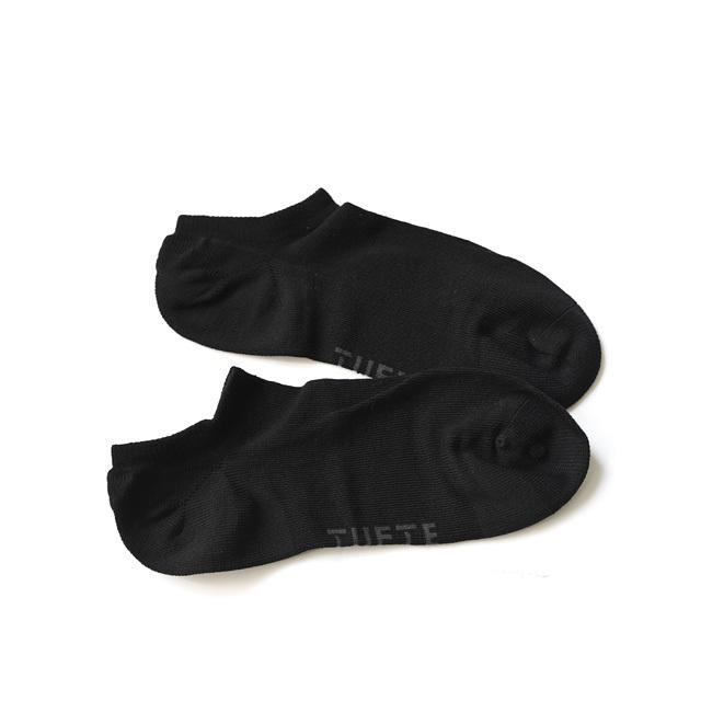 TUFTE - LOW SOCKS/3-pack - Black