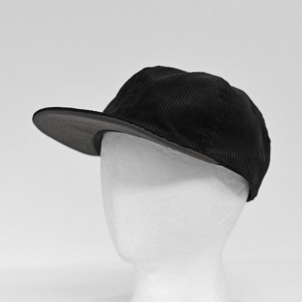 efni - 6 Panel  Cap / Corduroy - Black