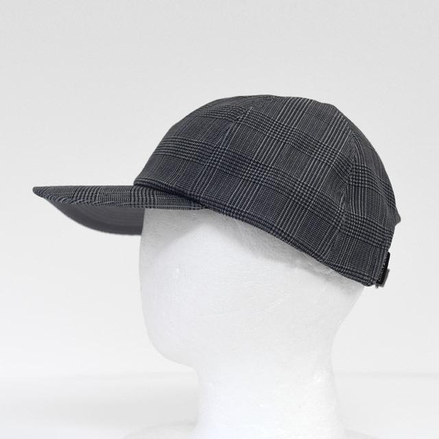 CURLY - Clifton 6P Cap - Glen check
