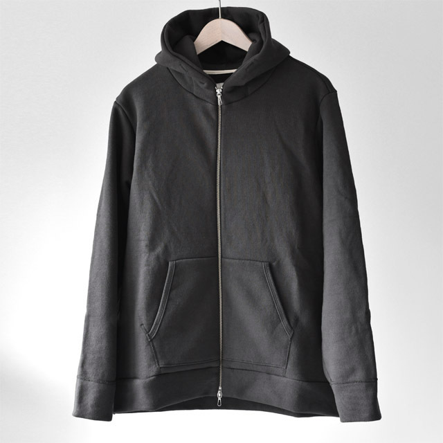 STILL BY HAND - Sweat Parka - Charcoal