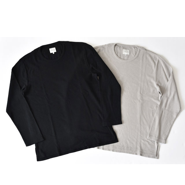 CURLY - Crunch Cashmere L/S CN Tee