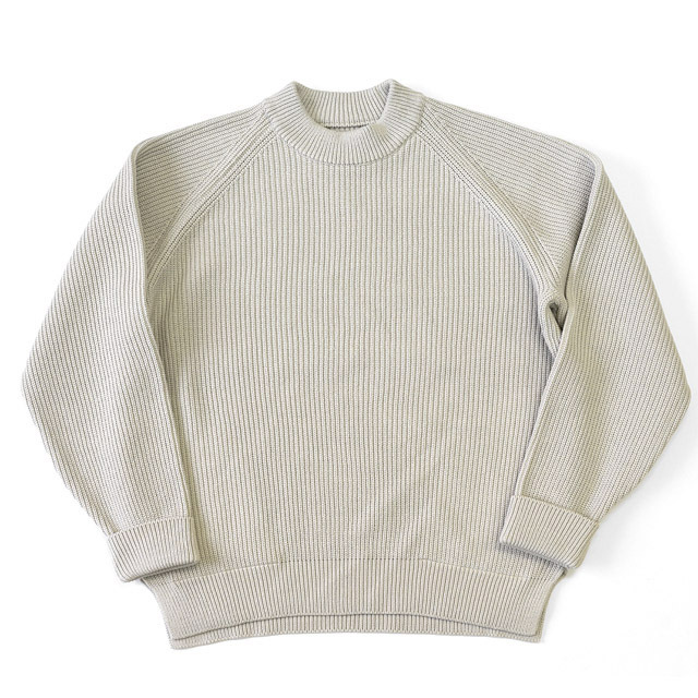 CURLY - AZTEC CN Sweater - Ivory