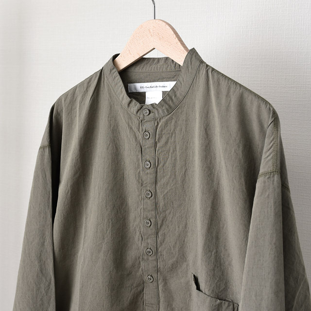STILL BY HAND - Cotton Linen Ankle Pants - Navy