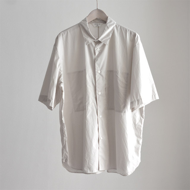 STILL BY HAND - W.Pocket Cotton Shirts - Lt Gray