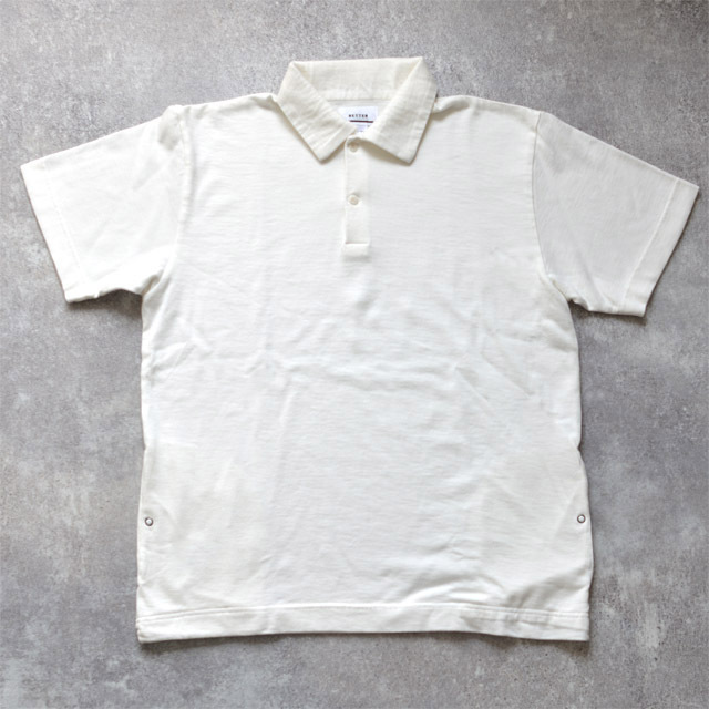 BETTER - Fanon Jersey S/S Polo - Off White