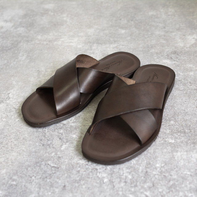 Nuovo Nicar - Leather Sandal - Dk Brown