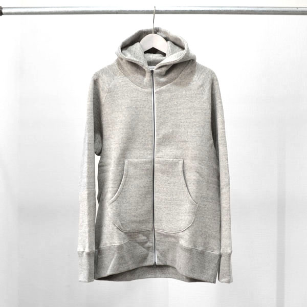 CURLY - RAFFY ZIP PARKA - Gray