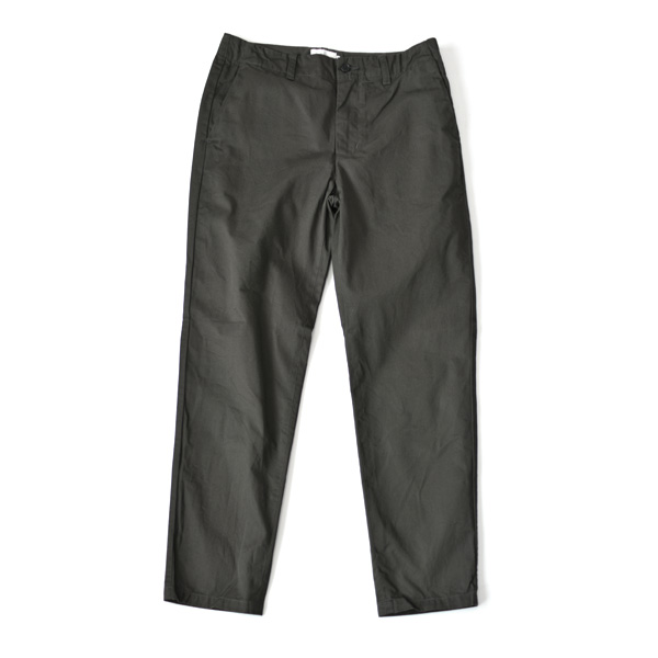 STILL BY HAND - Tapered Chino Trousers - Charcoal