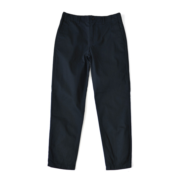 STILL BY HAND - Tapered Chino Trousers - Navy
