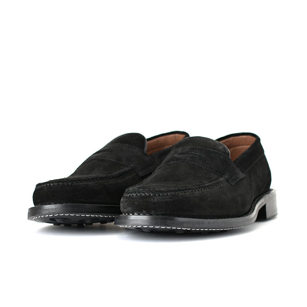 WALLSALL - Loafer - Black Suede