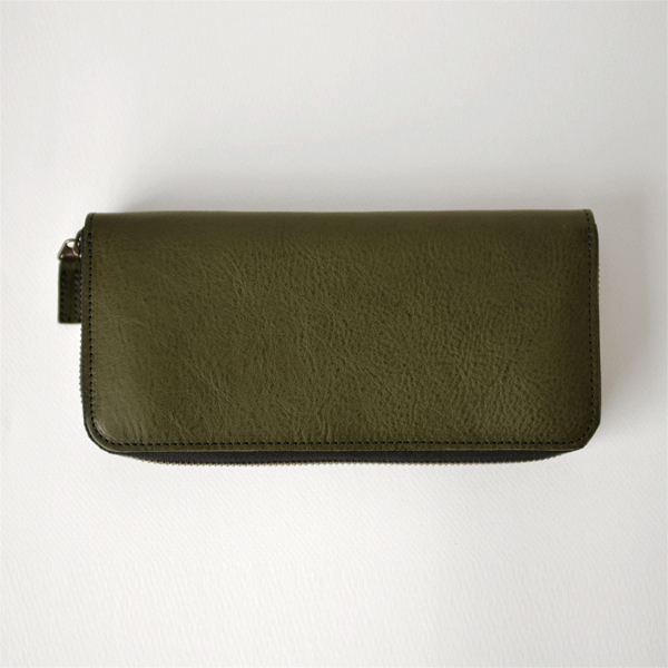 efni - Long Wallet - Olive Green